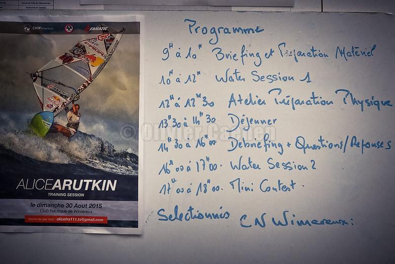 Alice Arutkin Training Session