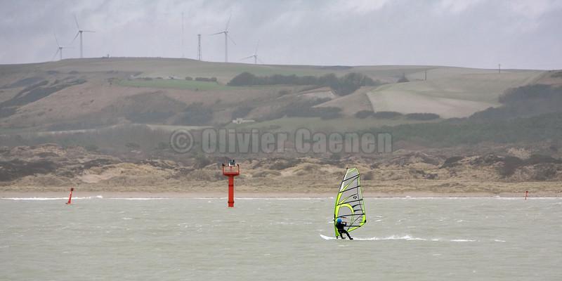 GPS Speed Contest Baie de Canche 2007