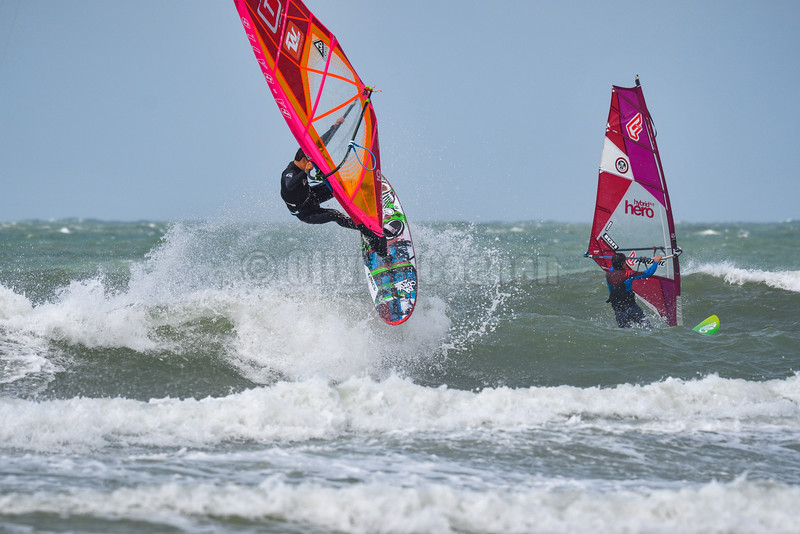 Romain Cordier,Windsurf  Session Wissant 11-07-2016 ©  Olivier Caenen, tous droits reserves