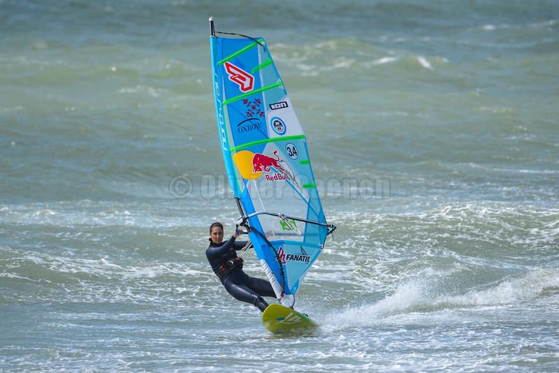 Alice Arutkin ,Windsurf  Session Wissant 11-07-2016 ©  Olivier Caenen, tous droits reserves