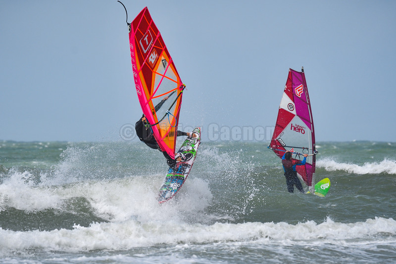 Romain Cordier,Windsurf  Session Wissant 11-07-2016 ©  Olivier Caenen, tous droits reserves