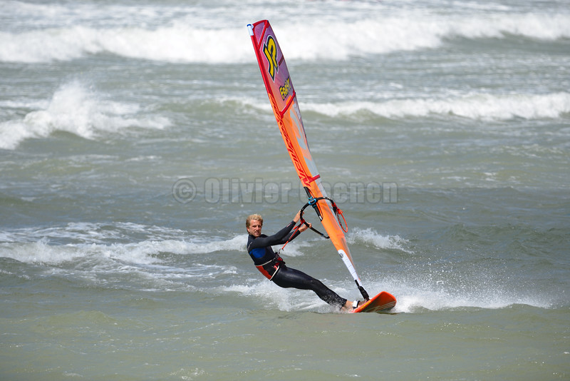 Jules Denel , Windsurf  Session Wissant 11-07-2016 ©  Olivier Caenen, tous droits reserves