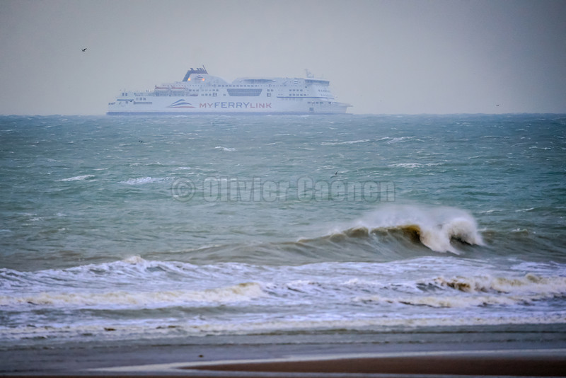 Ferry transmanche Session Windsurf matinale à Wissant 22/12/2013