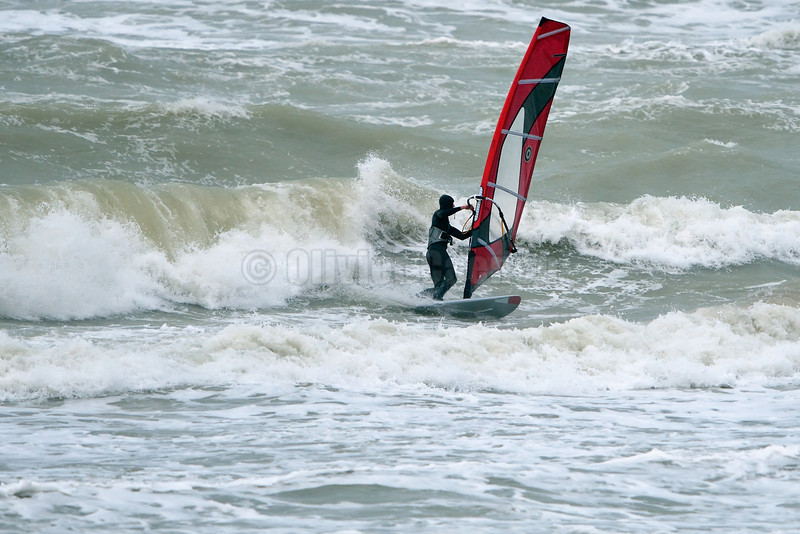 Last Windsurf Session of the Year 2012