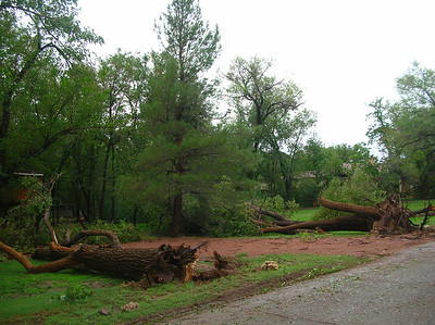 July 24, 2013 - More damage along Meadowlark Drive Nikon Coolpix 4100