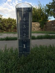 8/21/18-45 minute rain total