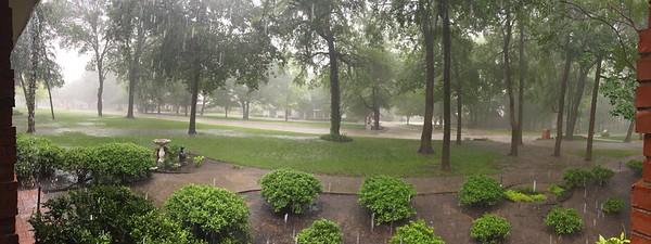 Flooded Frontyard