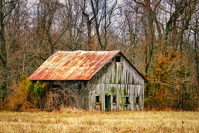 Small Weathered Barn