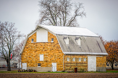 Ceramic Brick Barn