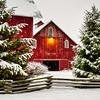 Spring Snow<br /> Bartholomew County, Indiana