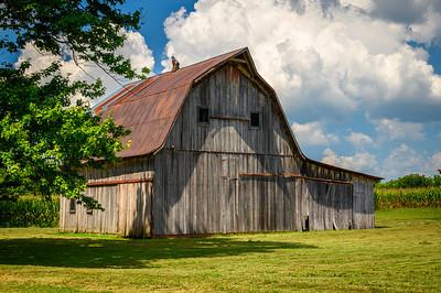 Rusty Roof Barn