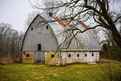 Round Roof Barn