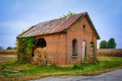 Schoolhouse Hay Storage