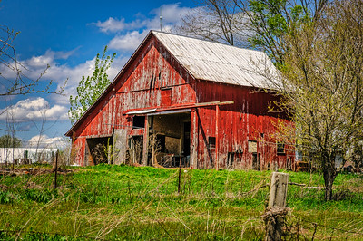 Small Red Barn