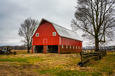 Red Brick Barn