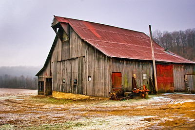 Neglected Barn