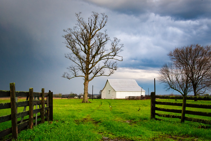 Spring Storms Barn
