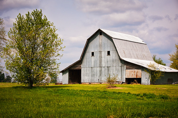 Metal Sided Barn