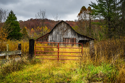 Gated Barn