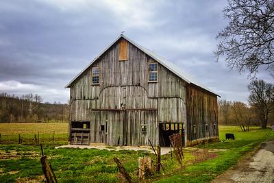 Weatherd Prairie Barn