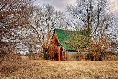 Rusty Metal Barn