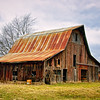 Old Weathered Barn<br /> Scott County, Indiana