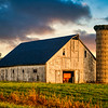 Hoosier Farm Sunrise