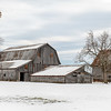 Winter Farm Landscape<br /> Bartholomew County, Indiana