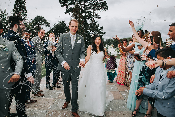 Congratulations to Rosy & Richard on their wedding @wroxallabbey
