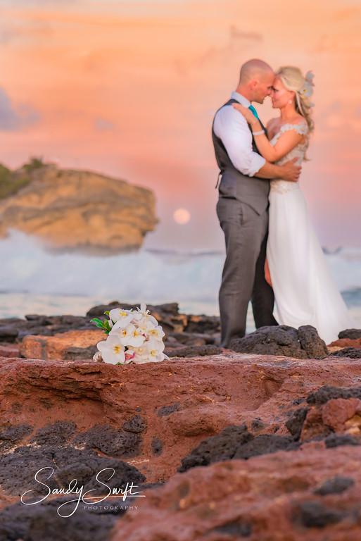 Romantic Moment on Kauai