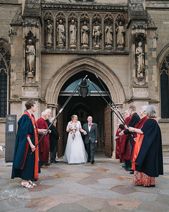 Leicester Cathedral Wedding Photography
