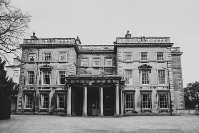 Prestwold Hall  Wedding Photography