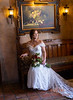 Bride sitting at La Caille