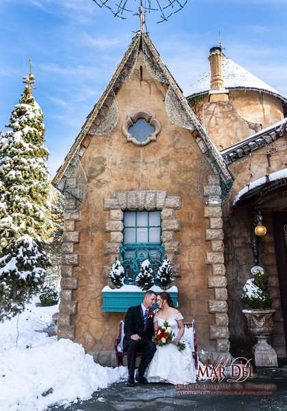 Wedding Couple at la Caille