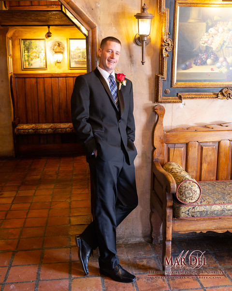 groom at La Caille