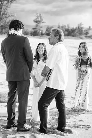 Papa'iloa beach wedding