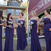 The beautiful bridesmaids.  I loved these dresses!