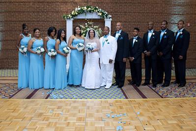 Delonda & Terry Wedding - Formals
