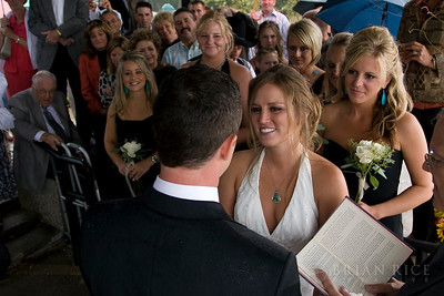 Jackie and Brian's Wedding, Sept 6, 2008