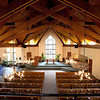 View of the Beaver Creek chapel from the upper deck.