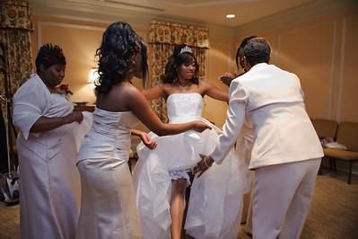 Monaque & Christopher Wedding - Getting Ready