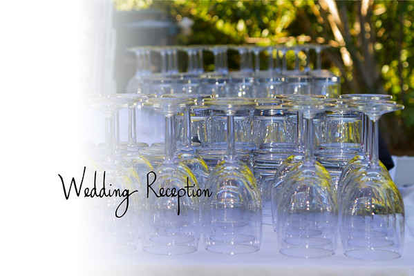 Wedding Reception Cover Page