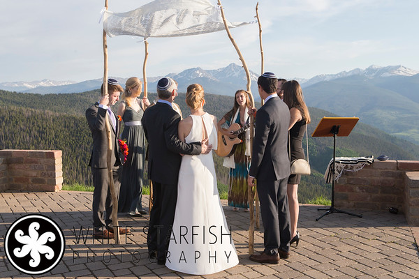 Vail Wedding Deck Wedding - Connie and Stephen