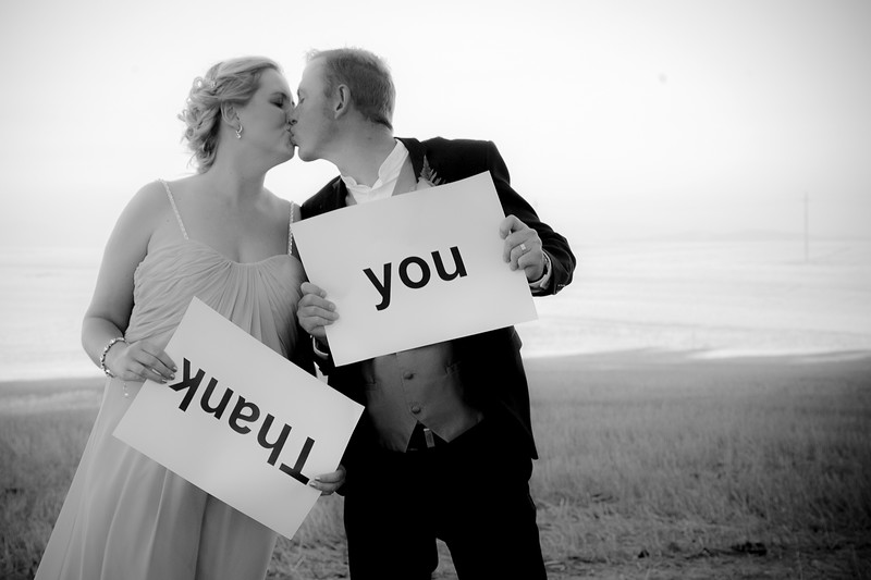 Wedding couple: Angelique and Thys