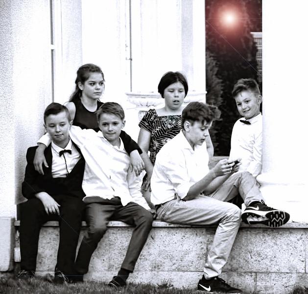 kids outside B & W.jpg