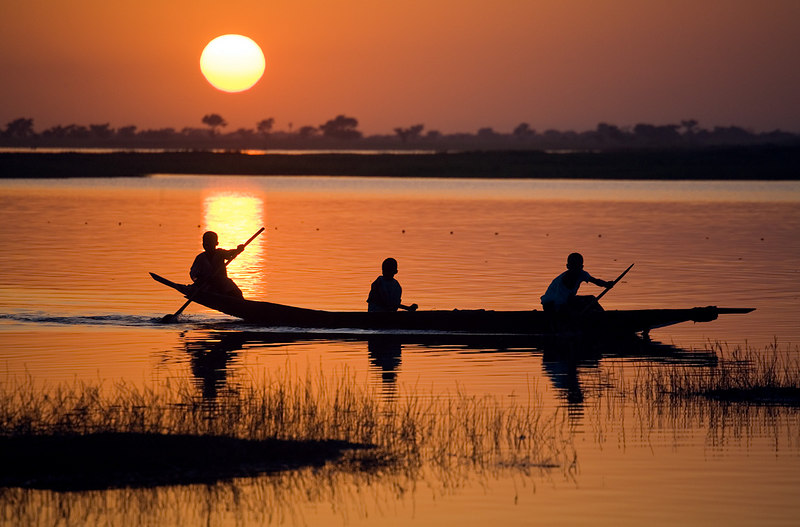 Segoukoro, Niger River, Mali