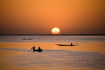 Segou, Niger River, Mali