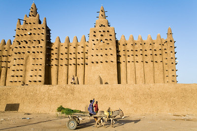 The Grande Mosque / Djenne, Mali