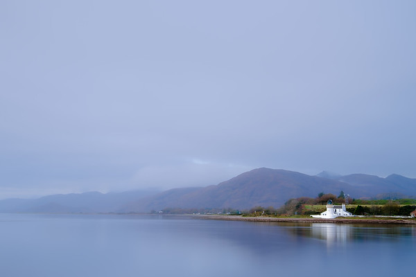 Serenity, Sea and Sky - Corran Lighthouse, Corran Narrows, Ardgour
