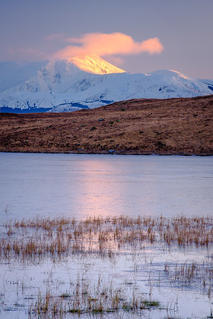 First High-Light II – Ben Nevis viewed from Lochan Doire a' Bhraghaid, Inversanda, Ardgour